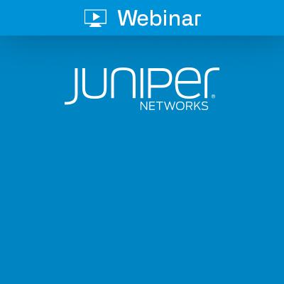 Icon Juniper Webinar