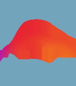 Icon Cloud Managed blau